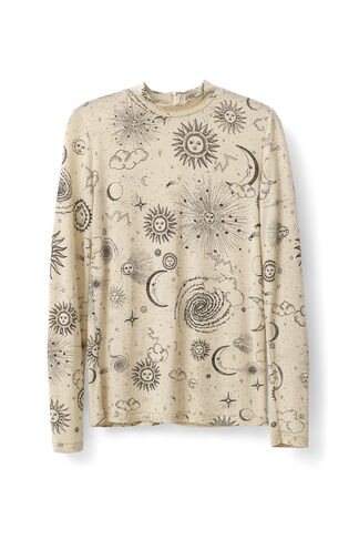Linfield Lyocell Rollneck, Biscotti Galaxy, hi-res