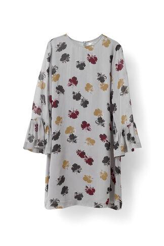 Bartlett Georgette Mini Dress, Quarry Petals, hi-res