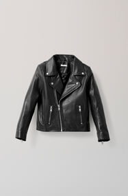 Passion Biker Jacket, Black, hi-res