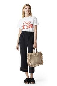 Grace Silk Pants, Black, hi-res