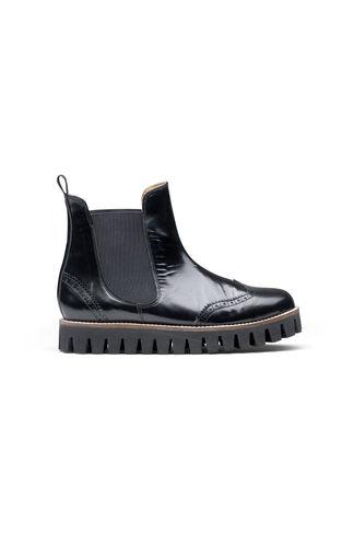 Erin Shine Ankle Boots, Black, hi-res