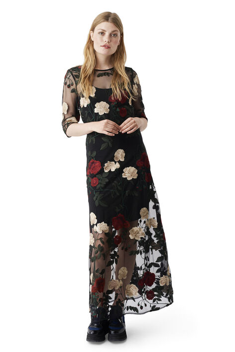 Simmons Maxi Dress, Black, hi-res