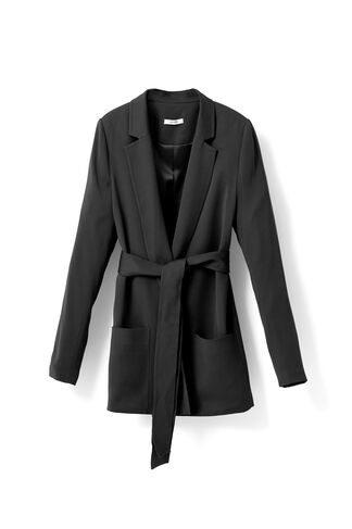 White Tailor Blazer, Black, hi-res