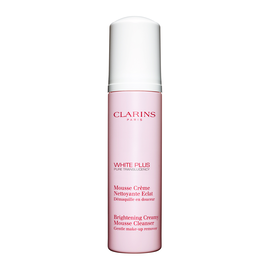White Plus Brightening Creamy Mousse Cleanser