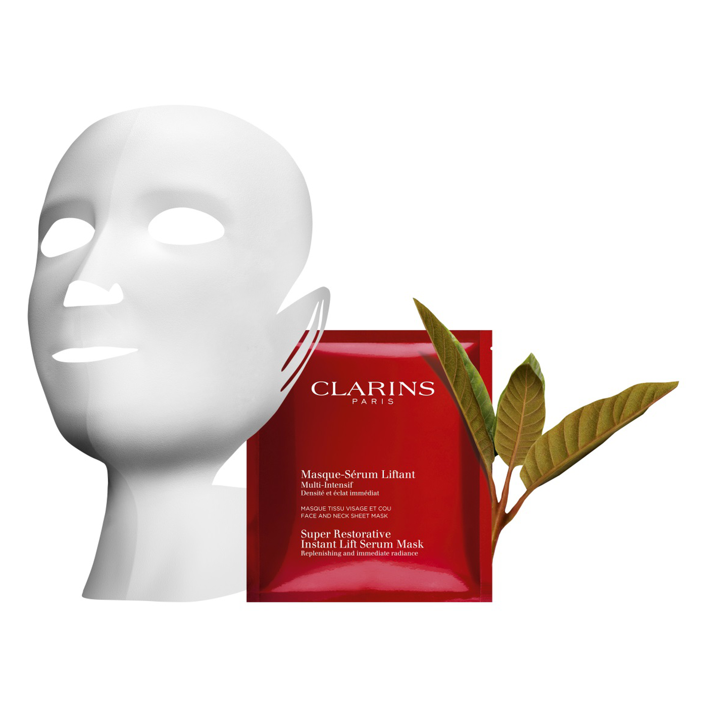 Super Restorative Instant Lift Serum Mask by Clarins #19