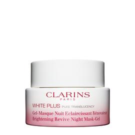 White Plus Brightening Revive Gel - Renewing night care treatment.