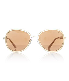 Womens Round Retro Sunglasses