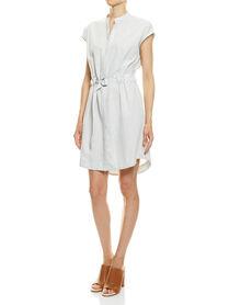 Kara Stripe Shirt Dress