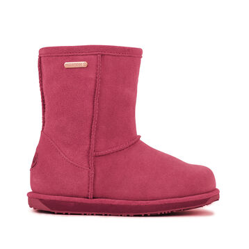 BRUMBY LO Kids Wool Boot - HOT PINK