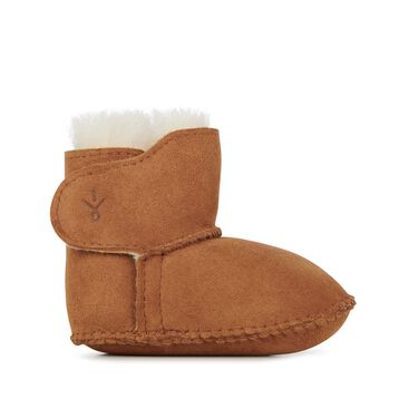 BABY BOOTIE Kids Deluxe Wool Boot - CHESTNUT