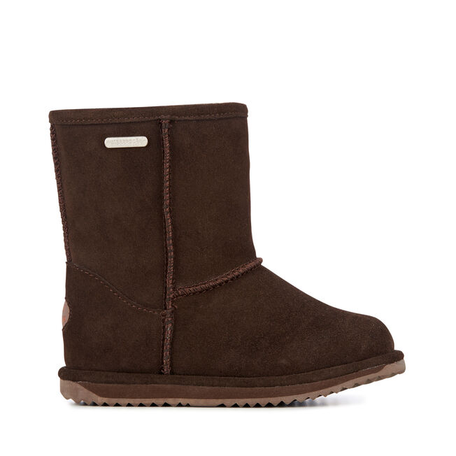 BRUMBY LO Kids Wool Boot - CHOCOLATE