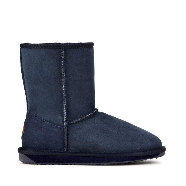 STINGER LO Womens Sheepskin Boot - INDIGO