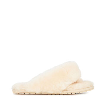 TOVA Womens Liner Skin Slipper - NATURAL