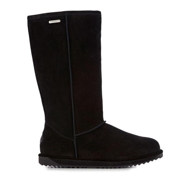 Paterson Hi Womens Liner Skin Boot - BLACK