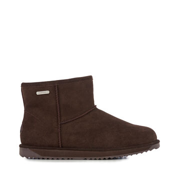 Paterson Mini Womens Liner Skin Boot - CHOCOLATE