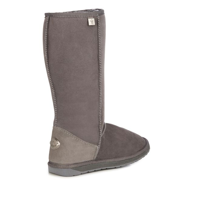 PLATINUM STINGER HI Womens Sheepskin Boot - CHARCOAL