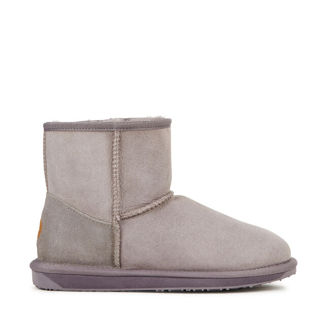 STINGER MINI Womens Sheepskin Boot - ASH