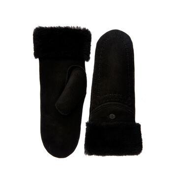 Otways Mittens Womens Sheepskin Glove/Mitten - BLACK