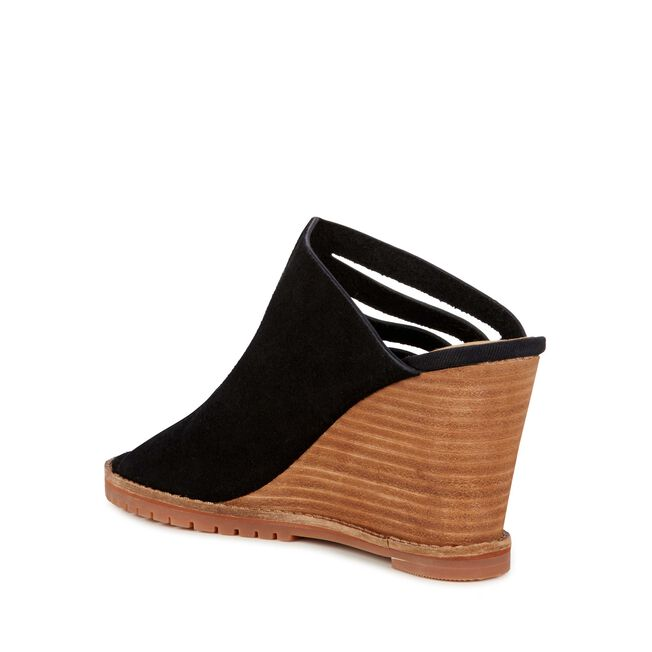 bohena womens cow leather heel wedge emu australia