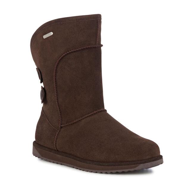 CHARLOTTE Womens Liner Skin Boot - CHOCOLATE