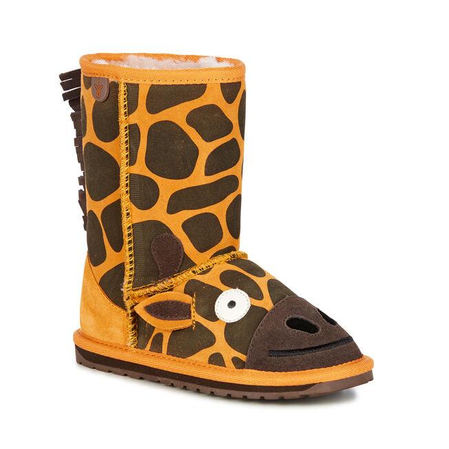 Giraffe Kids Deluxe Wool Boot Emu Australia