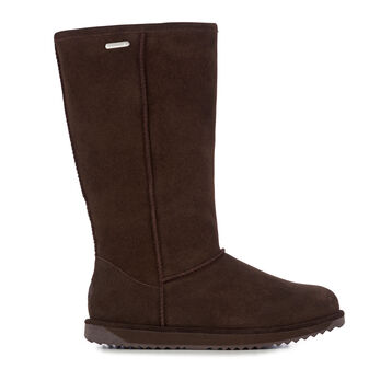 Paterson Hi Womens Liner Skin Boot - CHOCOLATE