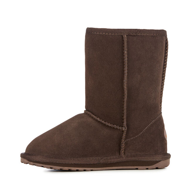 WALLABY LO Kids Deluxe Wool Boot - CHOCOLATE
