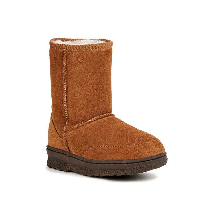 BUSHRANGER LO Kids Deluxe Wool Boot - CHESTNUT