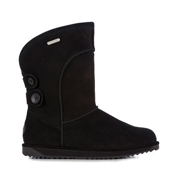 CHARLOTTE Womens Liner Skin Boot - BLACK
