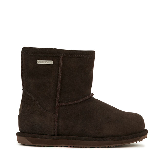 Brumby Mini Kids Wool Boot - CHOCOLATE