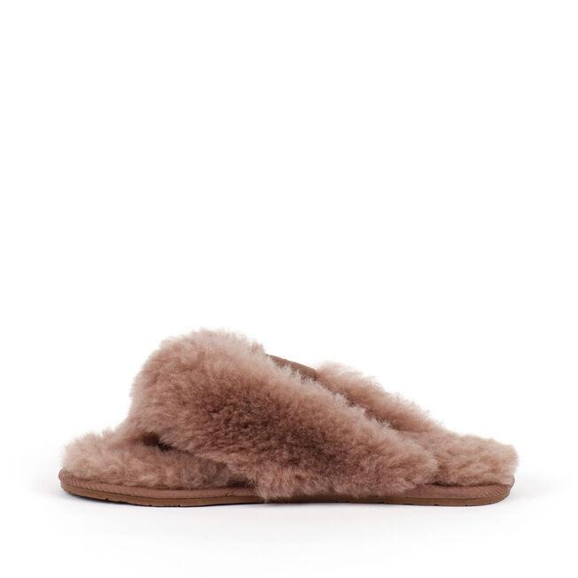 Tova長絨拖鞋, MUSHROOM, hi-res