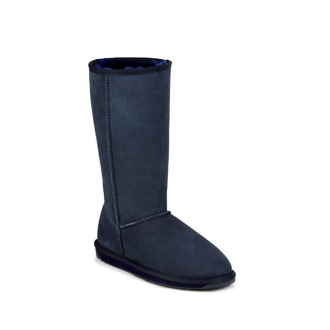 STINGER HI Womens Sheepskin Boot - INDIGO