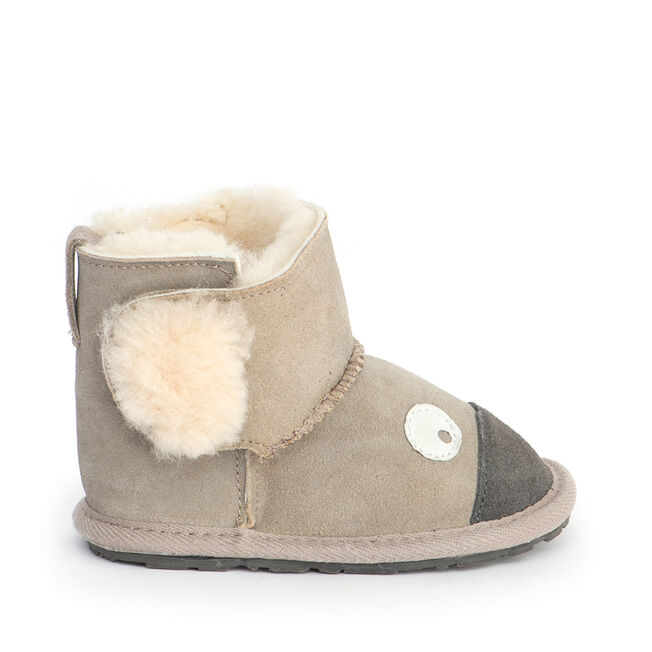 KOALA WALKER Kids Deluxe Wool Boot - PUTTY