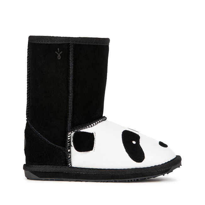 LC PANDA Kids Deluxe Wool Boot - BLACK