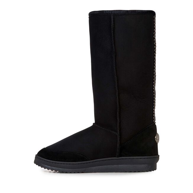 Platinum Outback Hi Womens Sheepskin Boot - BLACK
