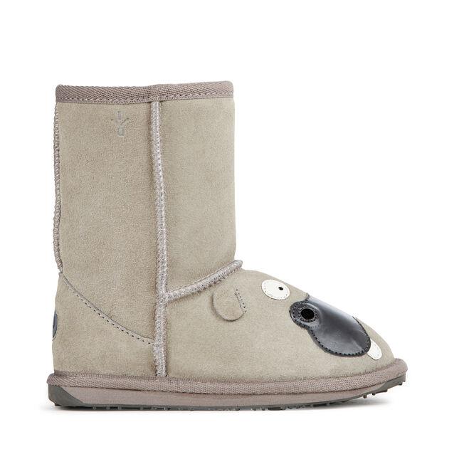 LC HIPPO Kids Deluxe Wool Boot - BIRCH