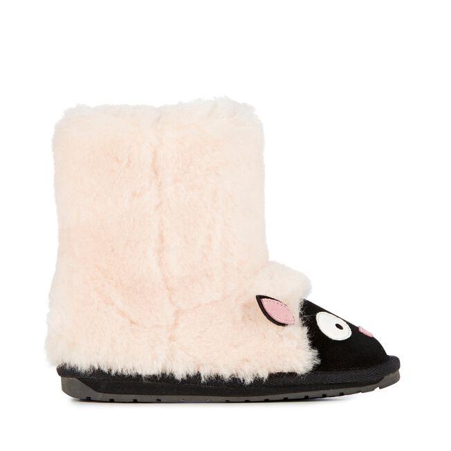 LC LAMB Kids Deluxe Wool Boot - NATURAL