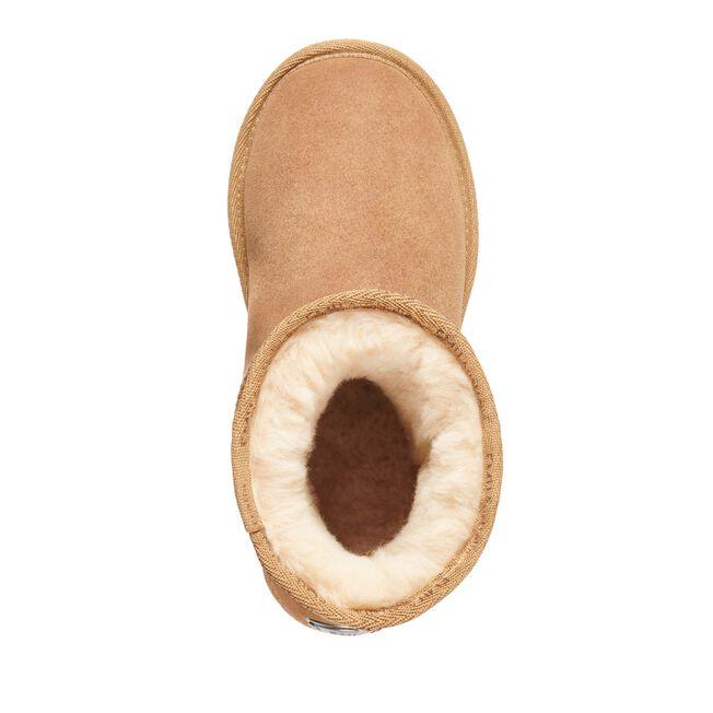 PLATINUM STINGER MINI Womens Sheepskin Boot - CHESTNUT