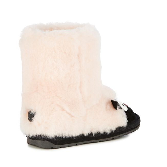 LC LAMB Kids Deluxe Wool Boot - NATURAL