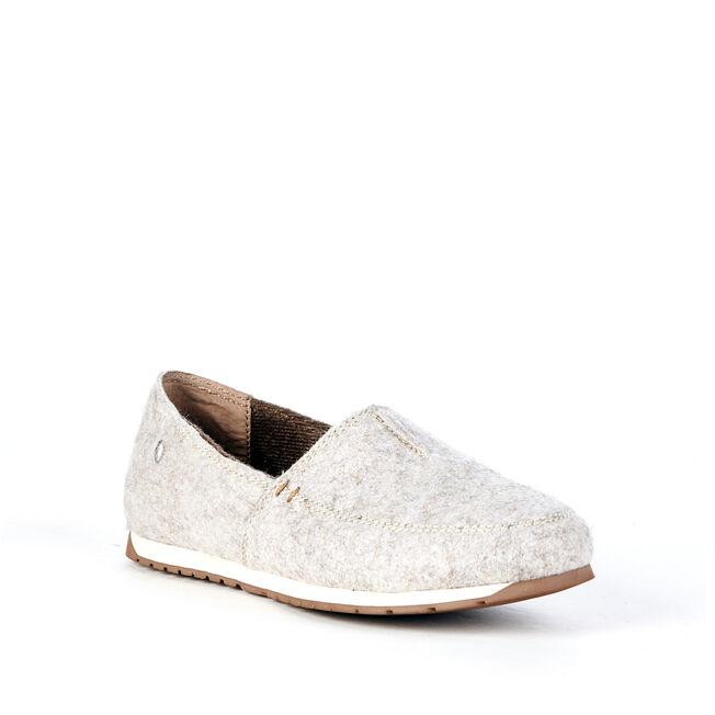 DAYTON Womens Felt Wool Shoe - SAND MARLE