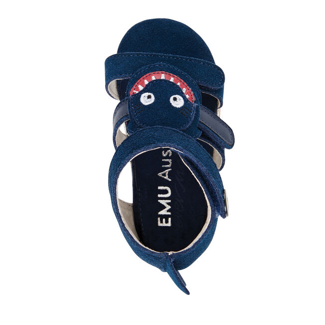 Shark Sandal, NAVY, hi-res