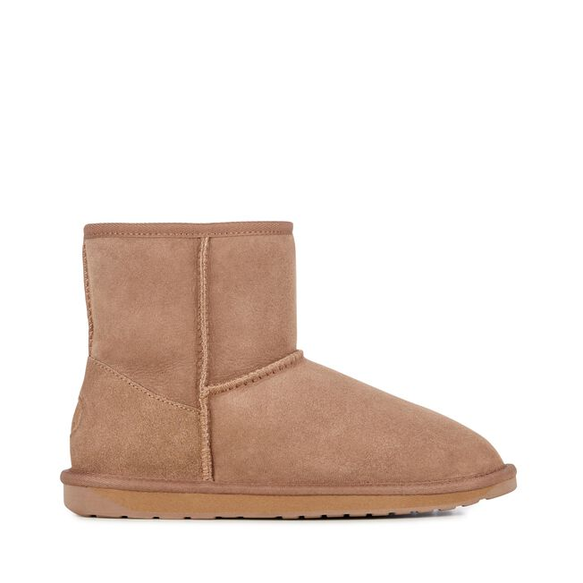 STINGER MINI Womens Sheepskin Boot - MUSHROOM