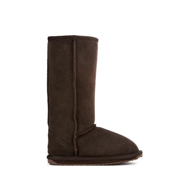 WALLABY HI Kids Deluxe Wool Boot - CHOCOLATE