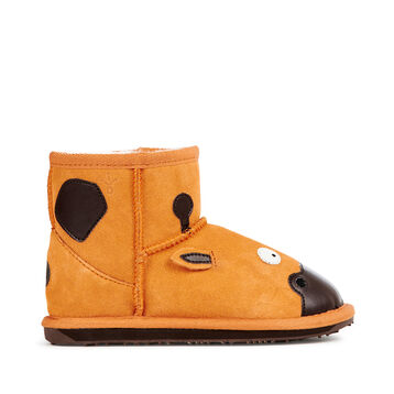LC GIRAFFE MINI Kids Deluxe Wool Boot - GOLD