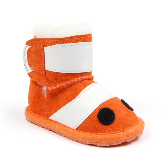 LC CLOWN FISH WALKER Kids Deluxe Wool Boot - ORANGE