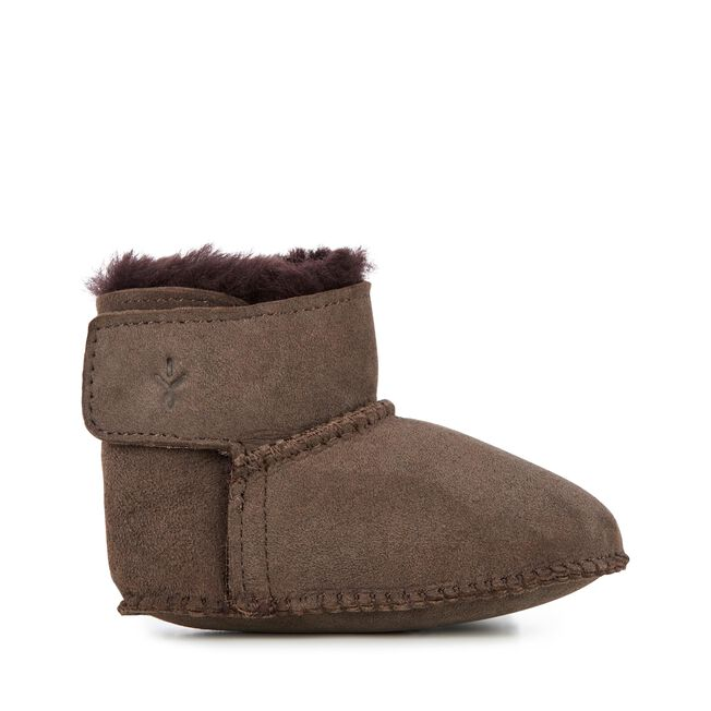 BABY BOOTIE Kids Deluxe Wool Boot - CHOCOLATE
