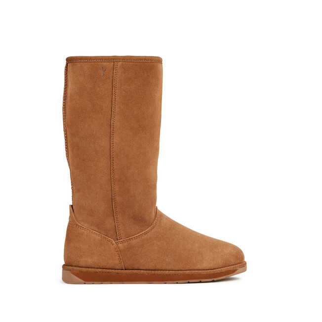 SPINDLE HI Womens Deluxe Wool Boot - CHESTNUT