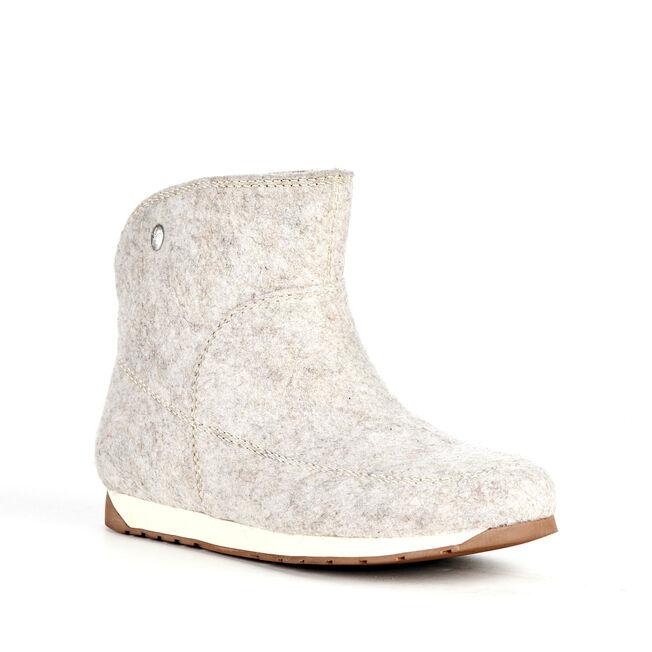 HARPER MINI Womens Felt Wool Boot - SAND MARLE