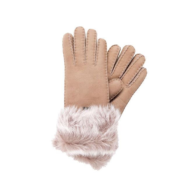 Taroona Gloves Nappa Finish, MUSHROOM, hi-res