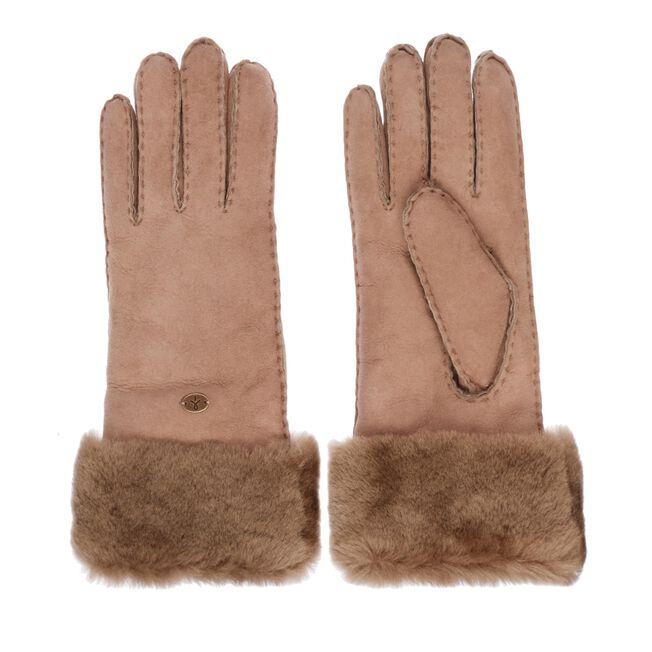 APOLLO BAY GLOVES Womens Sheepskin Glove/Mitten - MUSHROOM